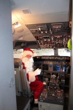 Air Berlin Weihnachtsflieger