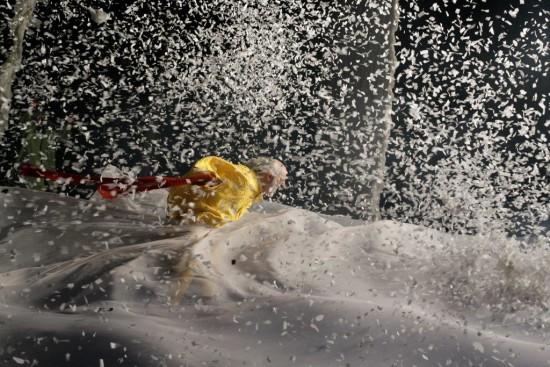Yellow clown in storm (V.Mishukov) (2)