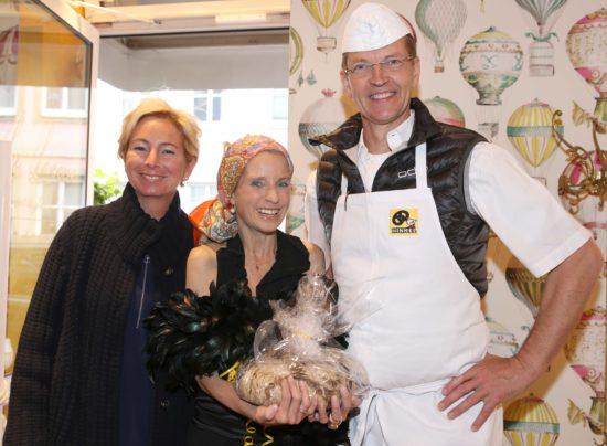 Eröffnung des La Loewe Bilker Str. 19, Nähe Carlsplatz Kamen zur Eröffnung des neuen Ladens von Mariette-Julie Loewe (Mi): Nicole und Josef Hinkel Foto: Anke Hesse 20.05.2016